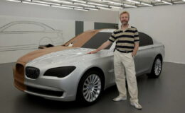 Знаменитый дизайнер Крис Бэнгл отметил 65-летие