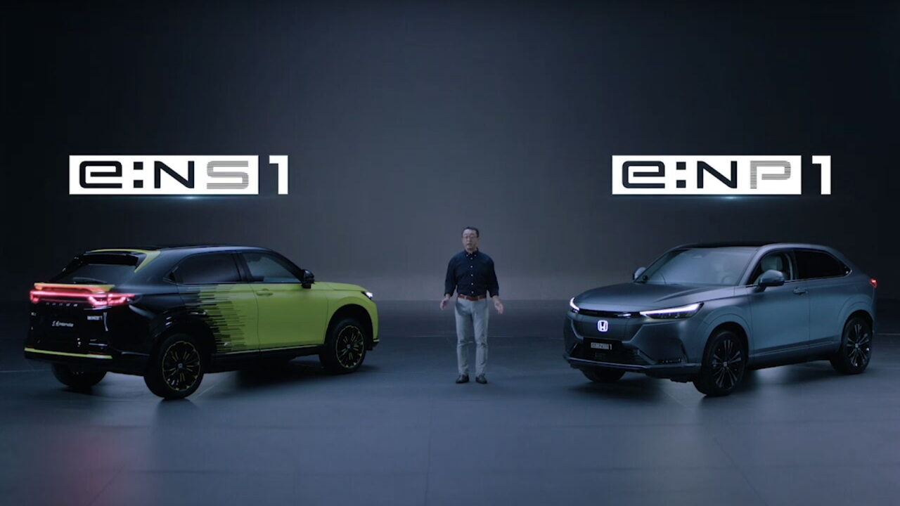 Компания Honda анонсировала пять новых моделей электромобилей, но для китайского рынка
