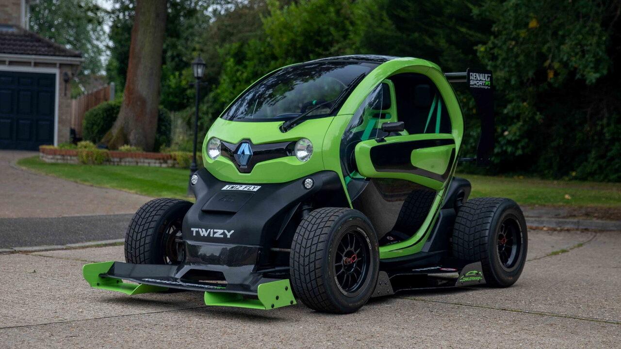 Копия Renault Twizy F1