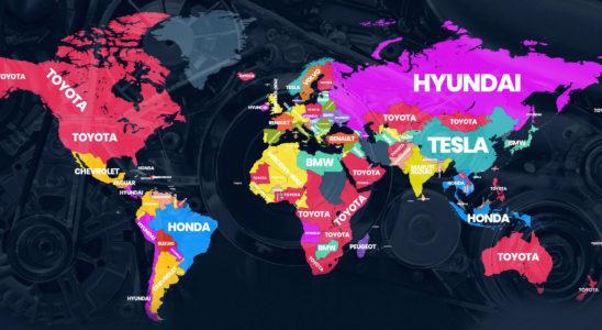 Самые популярные автомобильные бренды в разных странах мира
