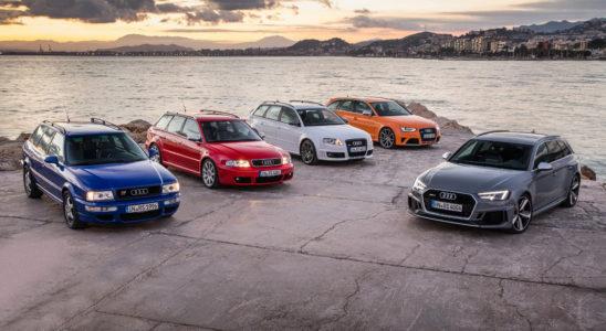 Самые мощные и быстрые спортивные универсалы Audi