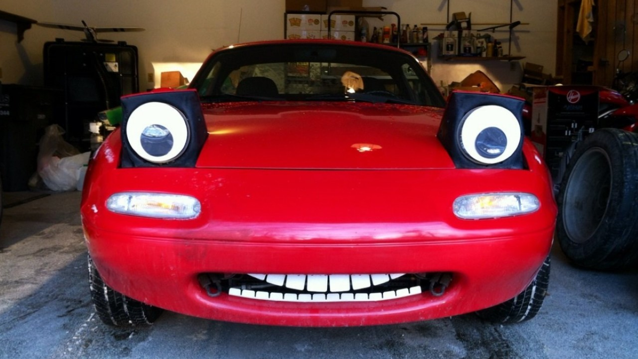 Mazda MX5 с зубами