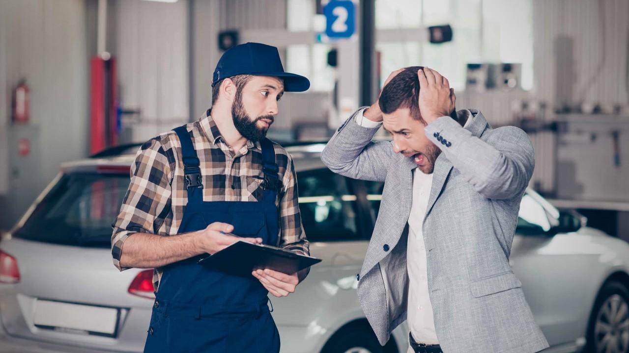 Владелец автомобиля в шоке от счёта за ремонт