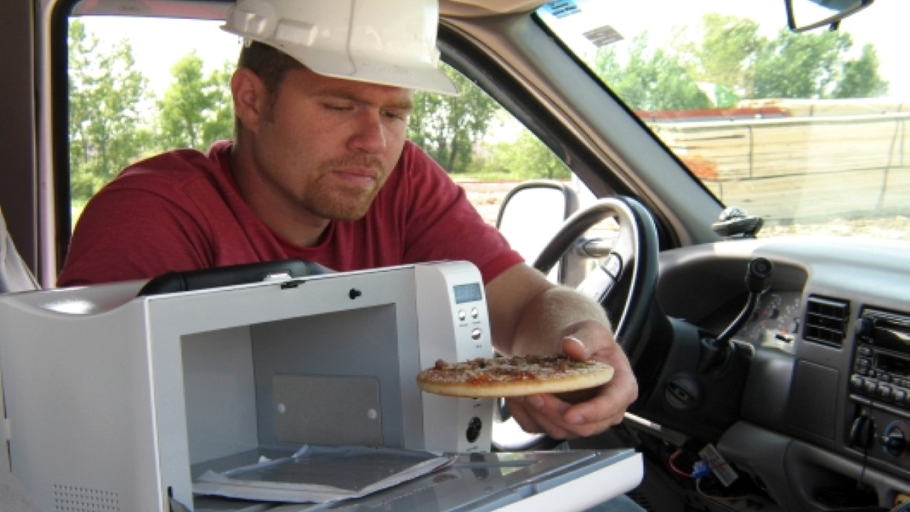 Микроволновка для автомобиля
