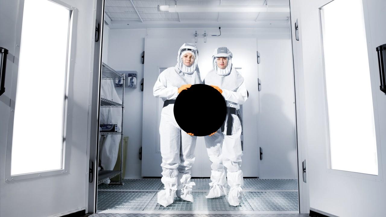 Учёные демонстрируют Vantablack