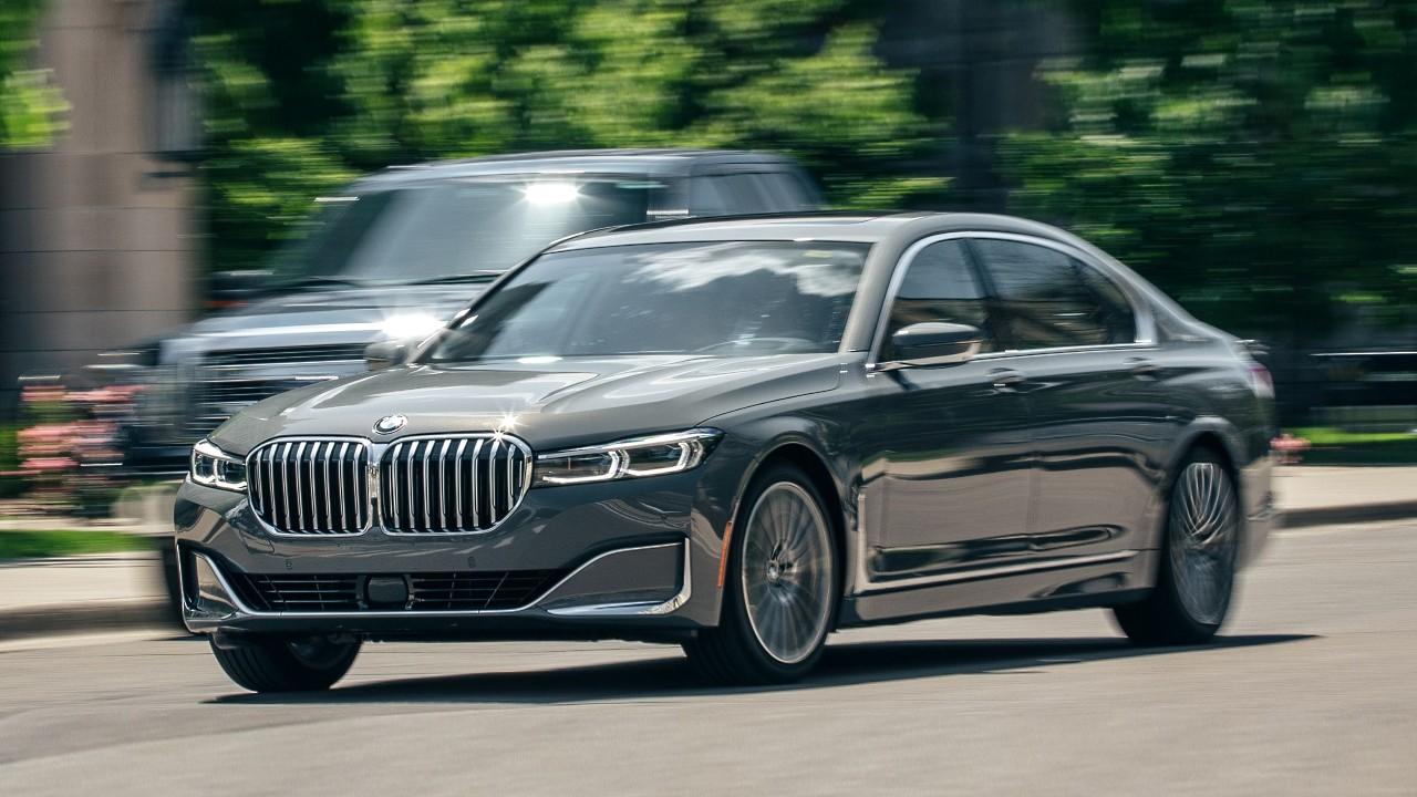 BMW 7-Series в базовой комплектации