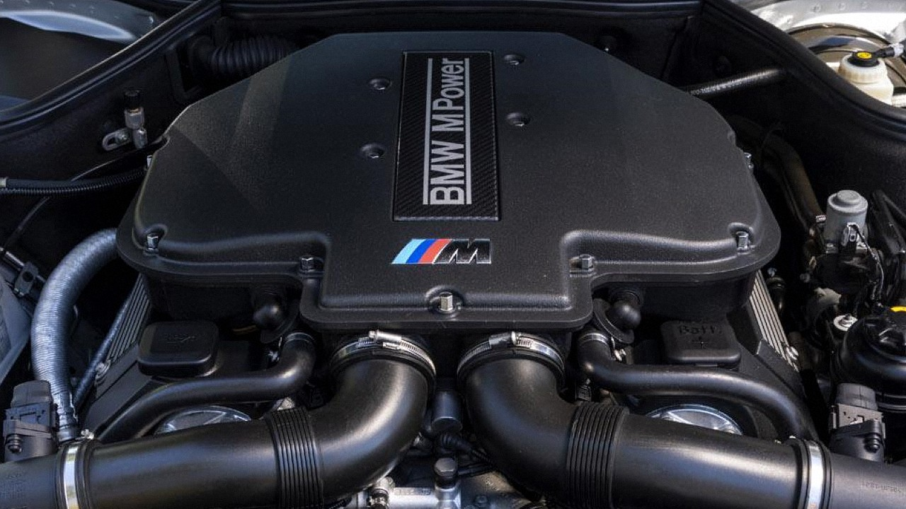 Двигатель БМВ S62B50