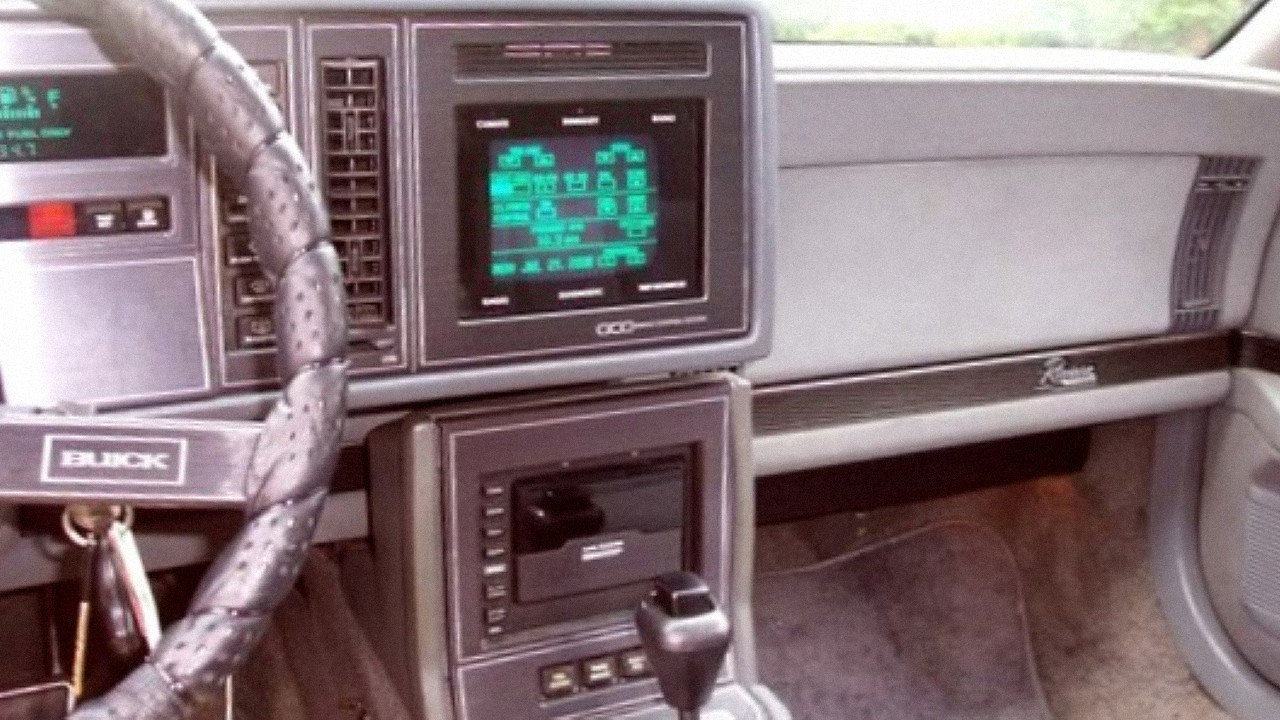 Buick Riviera Sensor Display