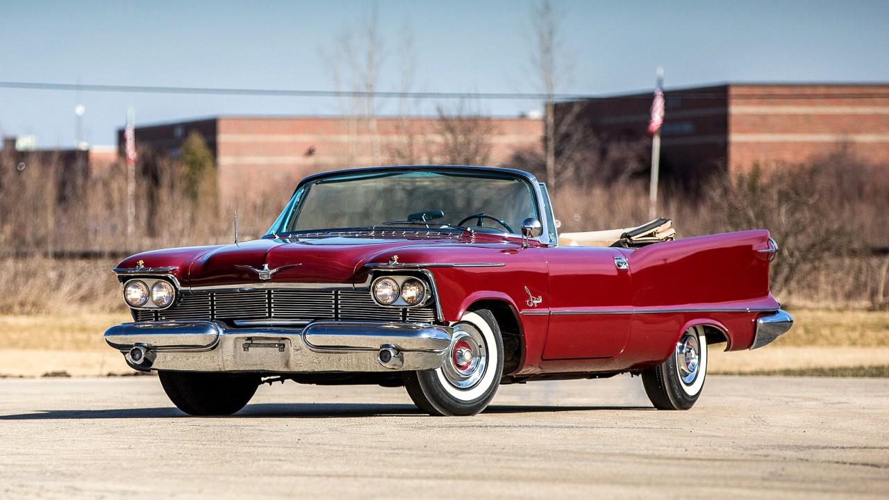 Первый в мире автомобиль с круиз-контролем Chrysler Imperial