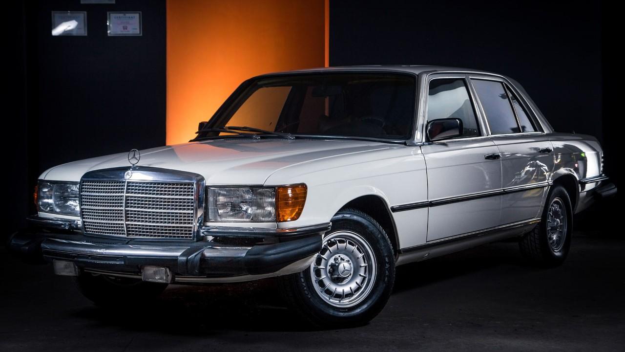 Первый в мире автомобиль с ABS Mercedes-Benz W116