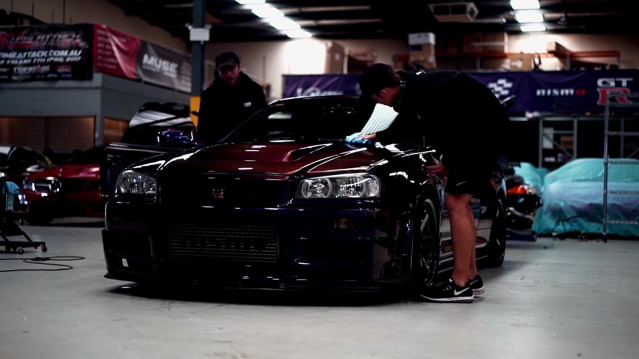 Реставрация Nissan Skyline GT-R