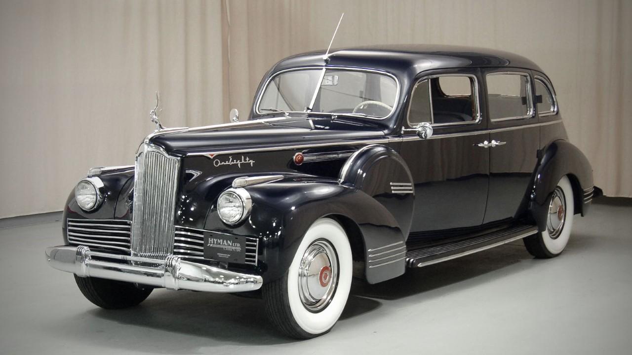 Первый в мире автомобиль с электрическими стеклоподъёмниками Packard 180