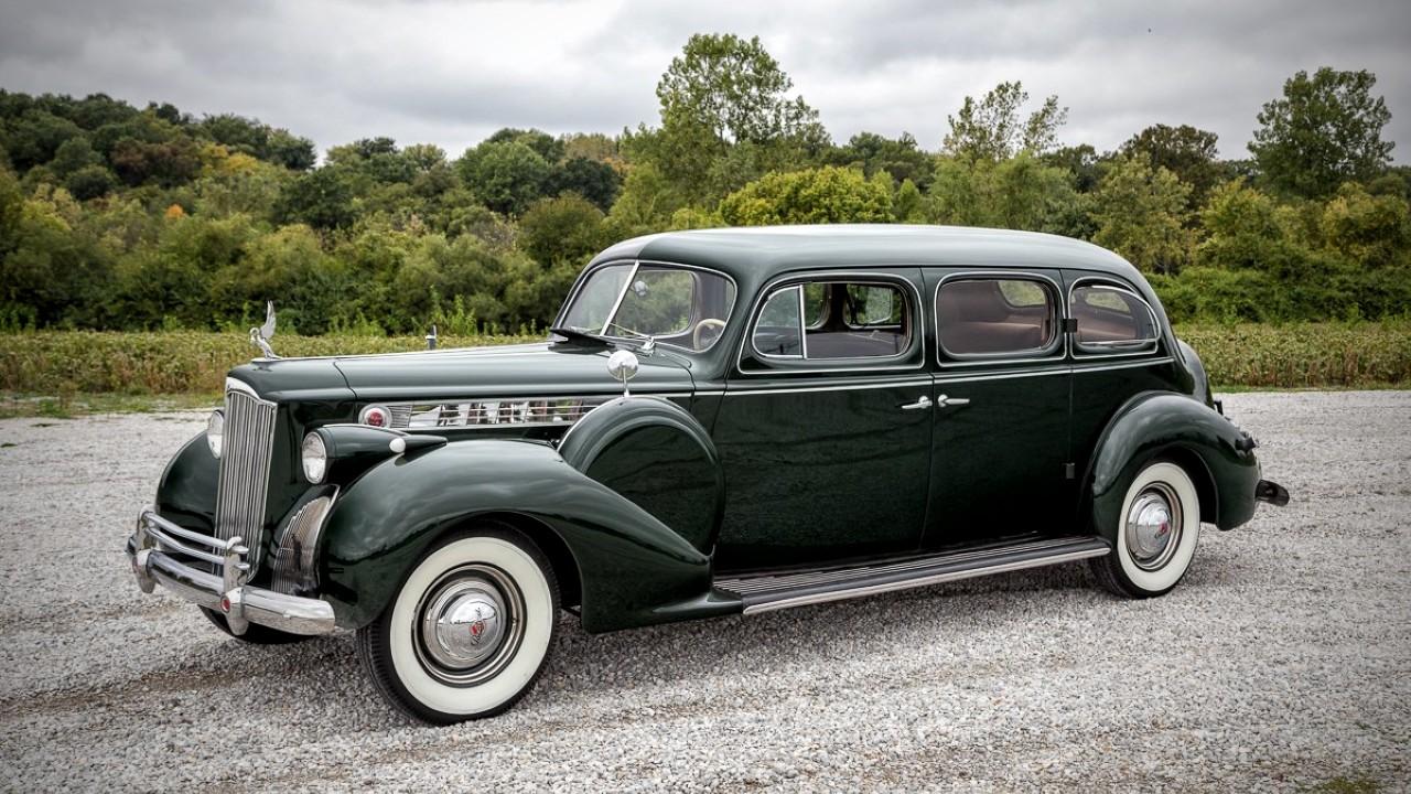 Первый в мире автомобиль с кондиционером Packard Super Eight