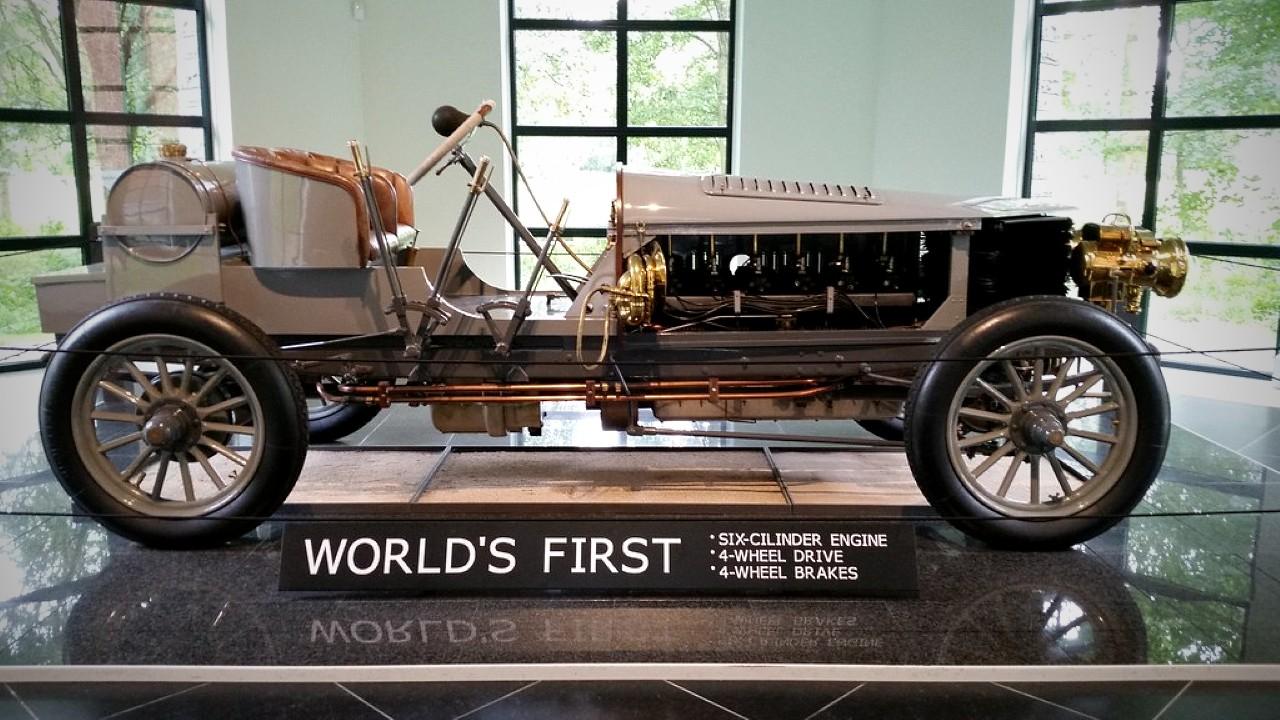 Первый в мире полноприводный автомобиль Spyker 60 HP