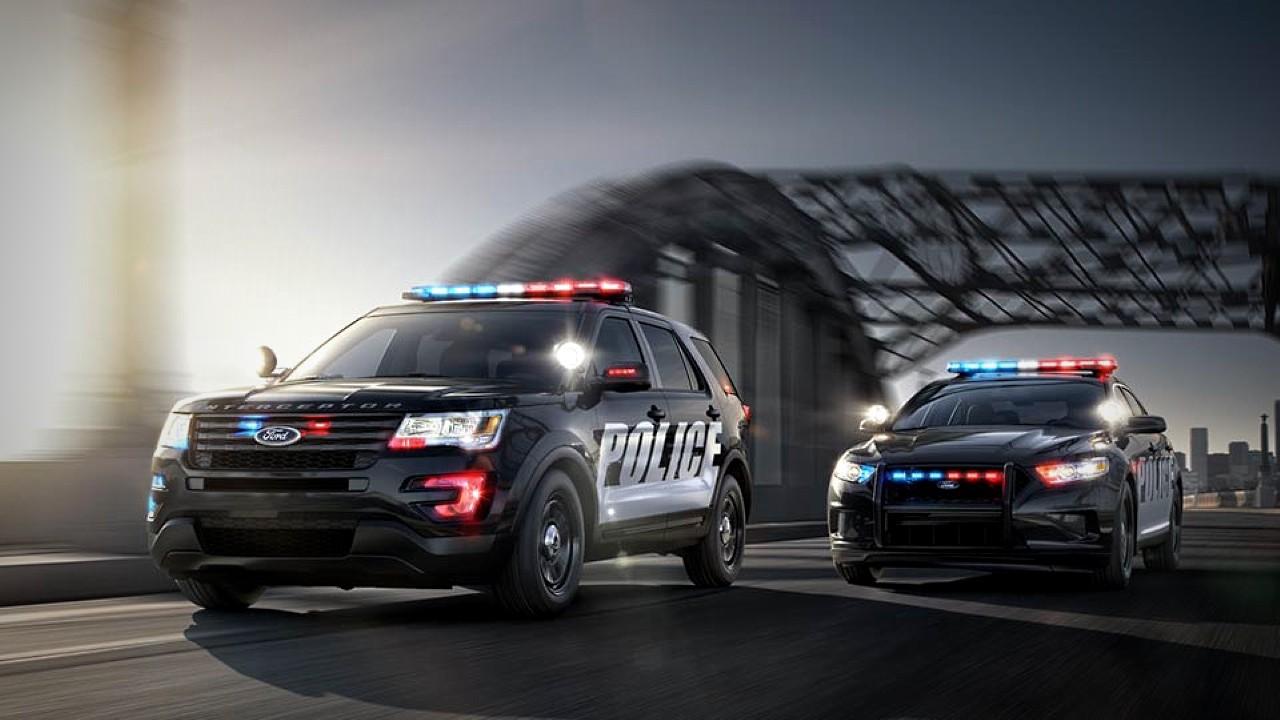 Автомобили полиции США